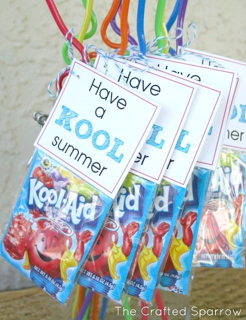 Have a Kool Summer - End of Year Goodbye Gift for Classmates