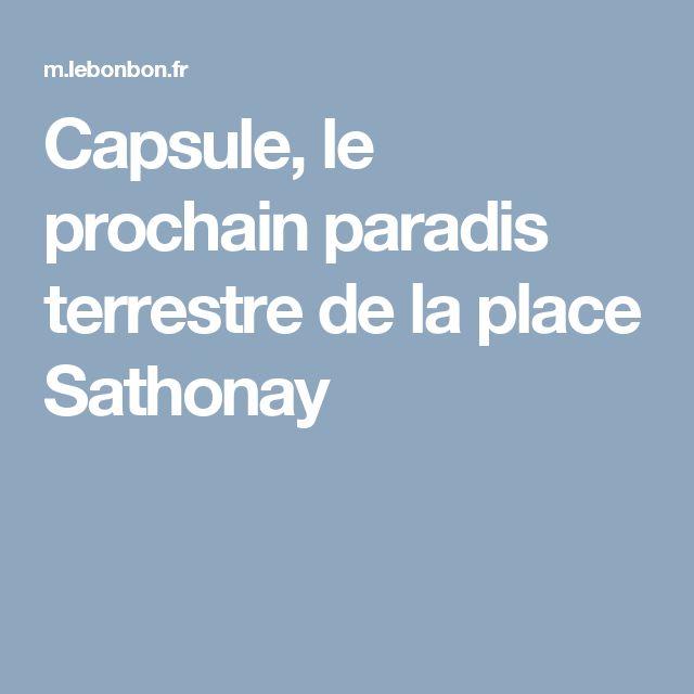 Capsule, le prochain paradis terrestre de la place Sathonay