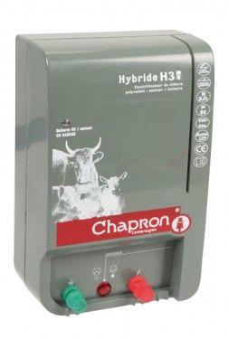 Poze Oferta Aparat gard electric pentru animale domestice si salbatice HYBRIDE H30, 220V/12V + alimentator 220V