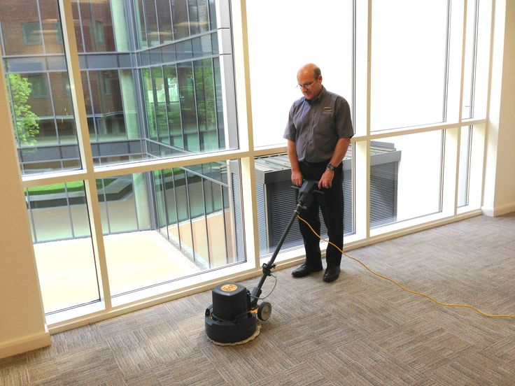 Office Carpet Cleaning in Bristol. Using Low Moisture, this carpeted area dried in 30 minutes!