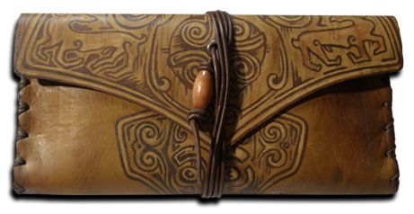 Morgenland Art Unique handmade creations get inspired from the old ages: Tobacco Pouches
