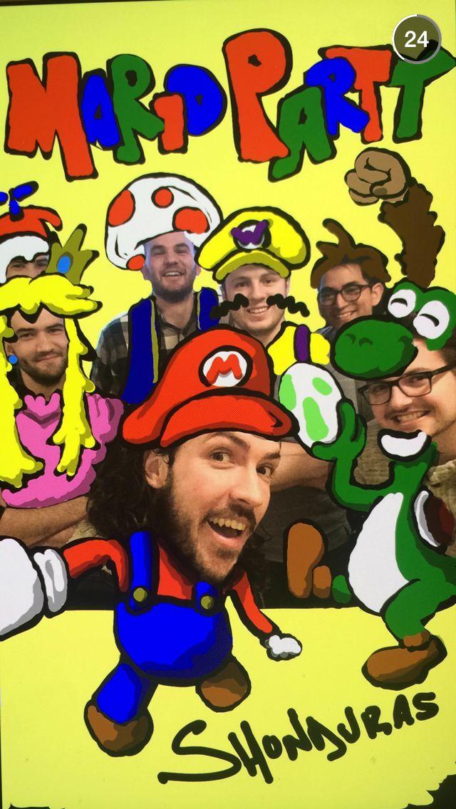 Shonduras snapchat - Mario Party