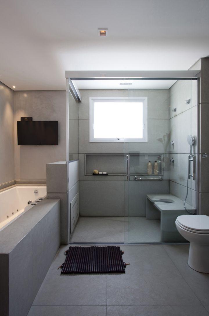 11 melhores imagens sobre banheiro com acessibilidade no Pinterest  Reforma, -> Banheiro Pequeno Adaptado Para Idoso