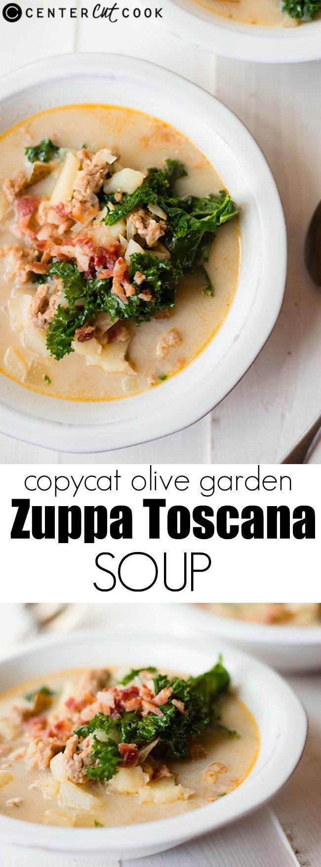 1000 images about centercutcook on pinterest peanut - Olive garden zuppa toscana copycat ...