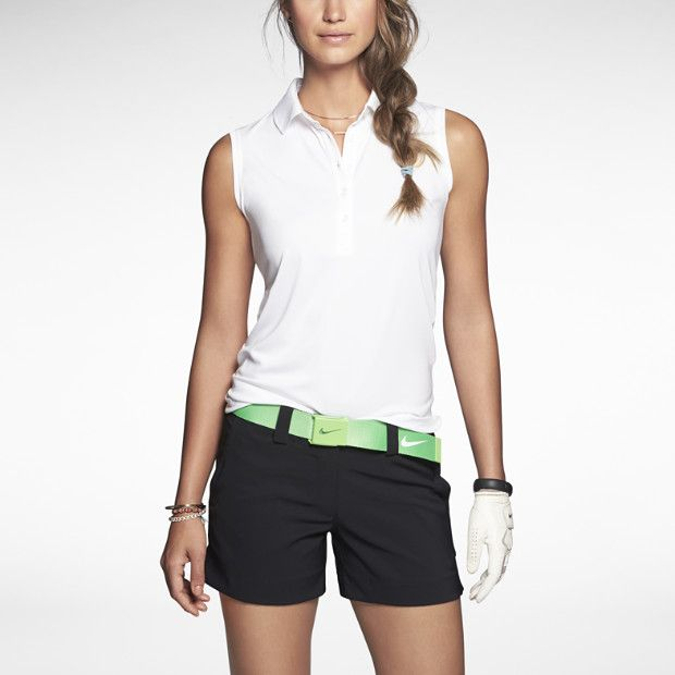 Nike Jersey Women's Golf Polo- I like this, but a little longer shorts.