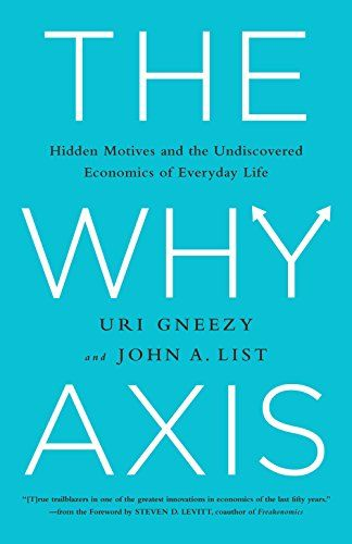 49 best books to read images on pinterest statistics books to the why axis hidden motives and the undiscovered economics of everyday life fandeluxe Choice Image