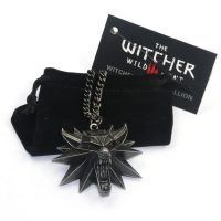 THE WITCHER 3 : WILD HUNT 3D Wolf Head Pendant Necklace //Price: $13.94 & FREE Shipping //     #picacollection #shopping #anime #videogames #cinema #fashion