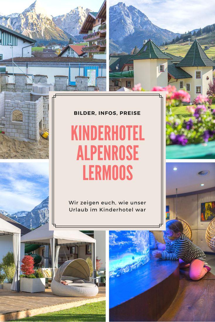 Familienurlaub im Kinderhotel Alpenrose Lermoos - Bilder, Infos, Preise