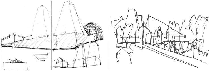 Eduardo Souto de Moura: sketches for Casa das Historias