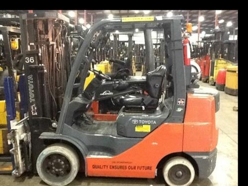 2008 Toyota 8FGCU32 6500lb LP Gas Forklifts Heavy