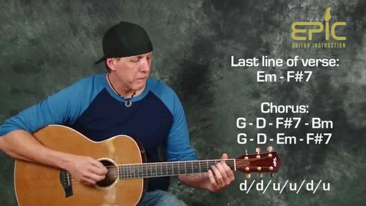 learn acoustic song eagles hotel california beginner guitar lesson strum guitar in 2019. Black Bedroom Furniture Sets. Home Design Ideas