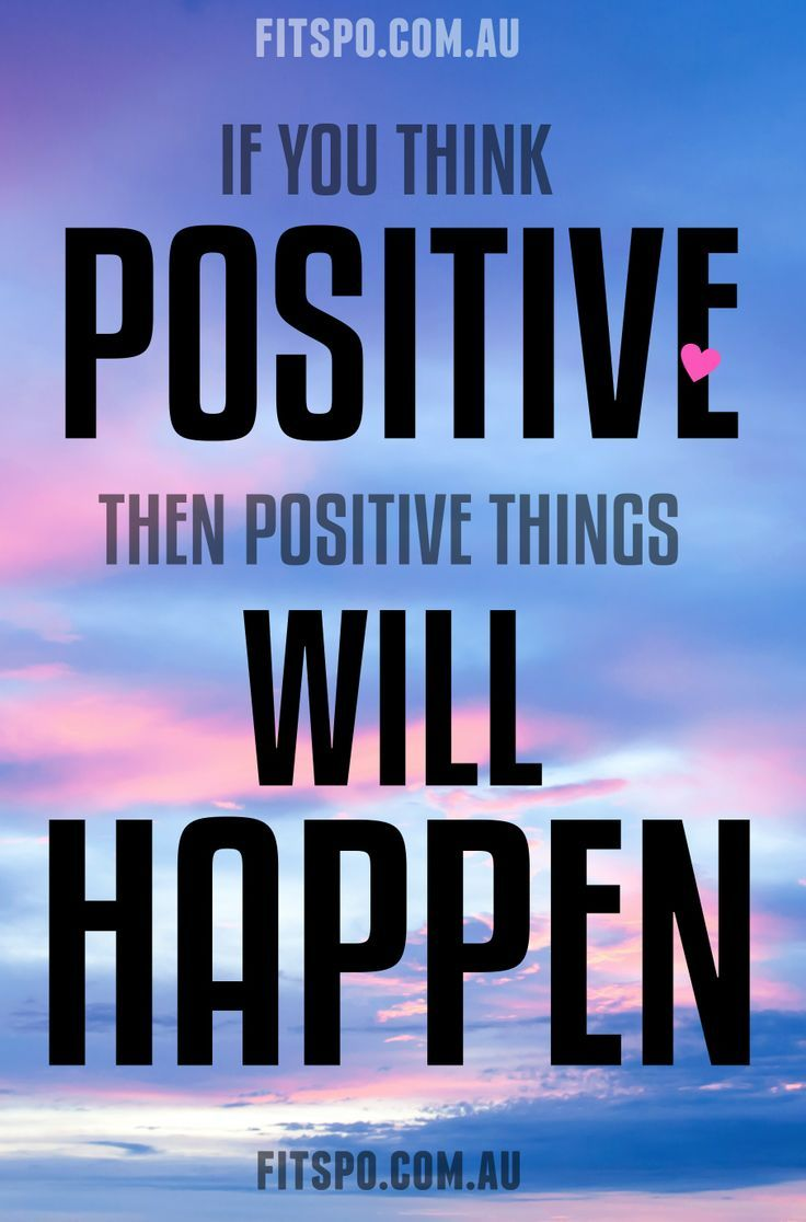 Positive Workout Quotes 98 Best Think Positive Images On Pinterest  Thoughts Inspiration