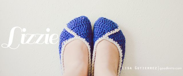 Lizzie Crochet Shoes - by Goodknits
