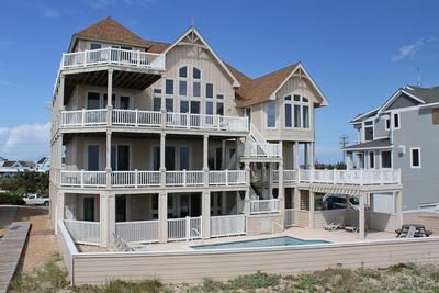 Hatteras vacation rentals pinch me oceanfront outer for Hatteras cabins rentals