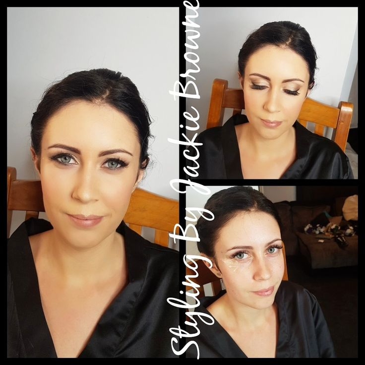 Before and after bride makeup bridal