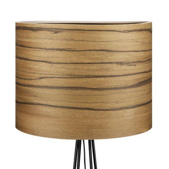 BERG Design Floor Lamp  Bolivian Walnut Veneer  by Sponndesign
