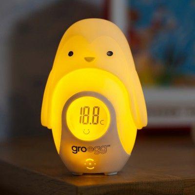Personnage Percy le pingouin pour thermomètre Gro-egg  par The Gro Company