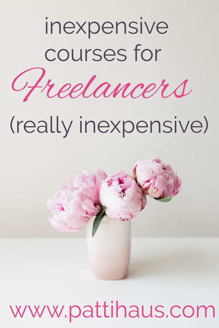 MY favorite inexpensive courses for freelancers. Learn as much as you can in order to stay in touch with digital marketing and promoting your blog or business.