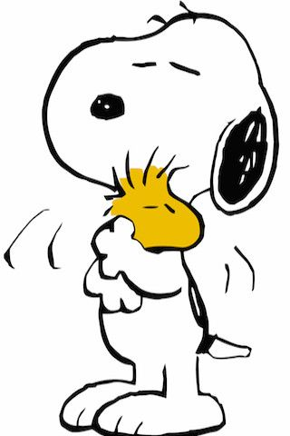 Snoopy & Woodstock                                                       …