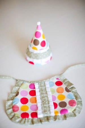 adorable hat and bib