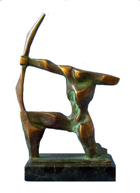 SAGITTARIUS - bronze sculpture