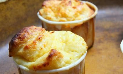 eating cheese soufflé - MY FRENCH COUNTRY HOME