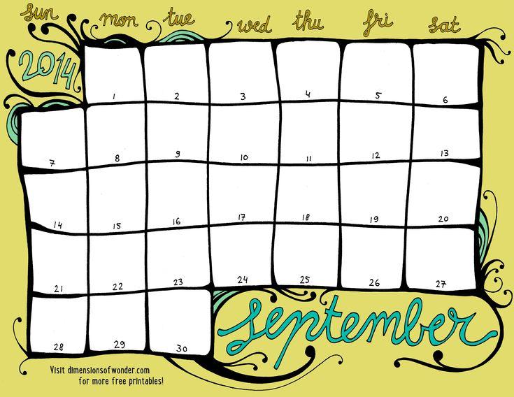 The 25+ best Fillable calendar ideas on Pinterest Daily schedule - calendar templates for kindergarten
