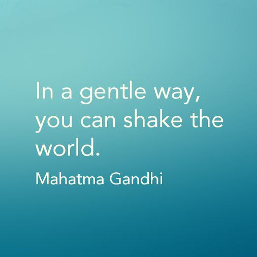Denise Wakeman - Google+ - How are you shakin' things up? #Gandhi   #quote  #pinoftheday