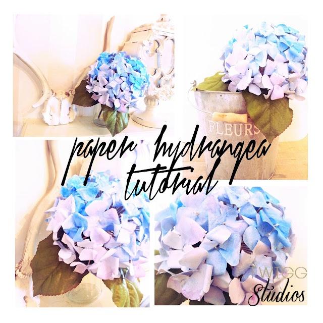 ..Twigg studios: tutorials - DIY Paper Hydrangeas