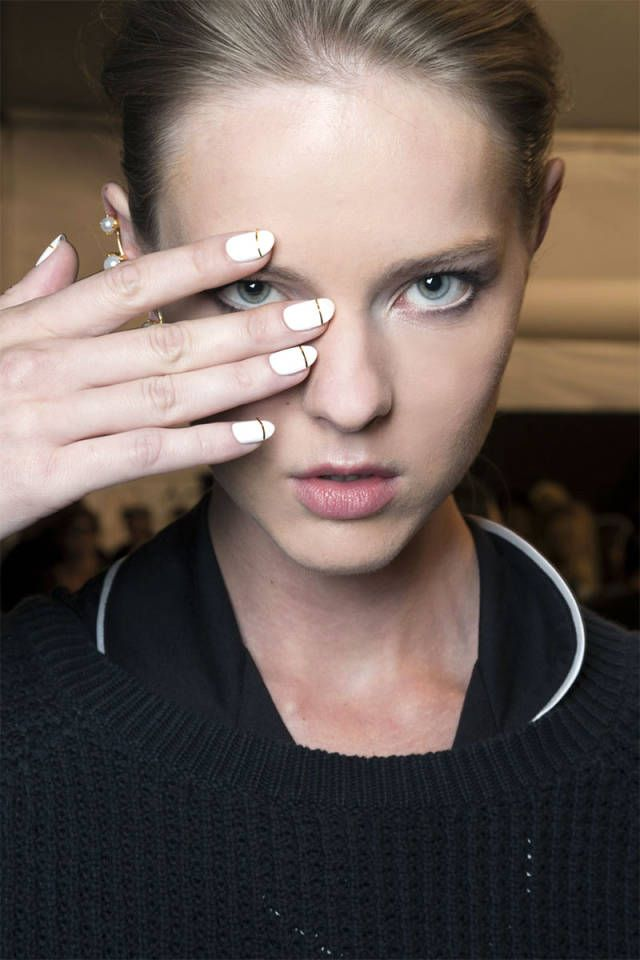 It's not too early to start prepping those nails for spring! Here are inspiring trends from the runways: