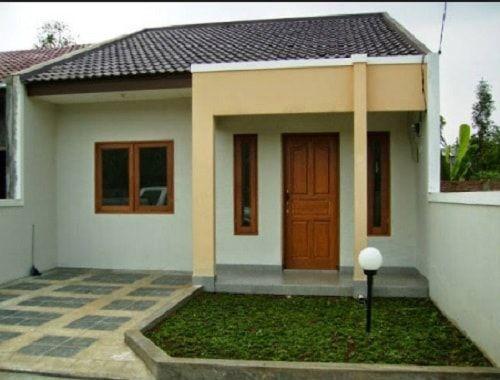 Warna Cat Rumah Minimalis Atap Biru - Denah Rumah