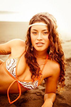 Bikini photo shoot for Desi Swimwear in Playa Hermosa, Costa Rica.  By Alicia Fox Photography