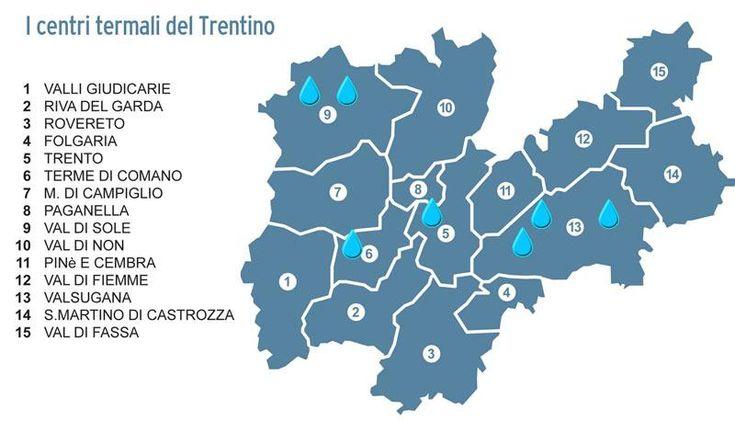 i Centri Termali del Trentino