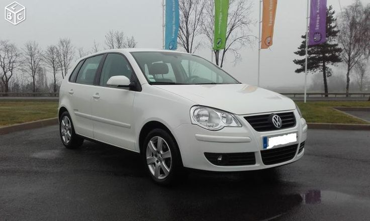 Volkswagen Polo United 1.4 TDI 70ch 5p blanc Candy