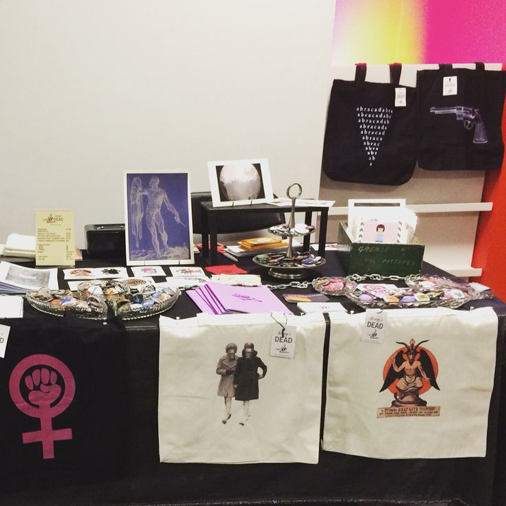 Our stall at the MCA Zine Fair.