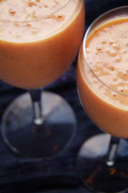 Mango Raspberry Lassi with Rosewater. Delicious, nutritious, and ...