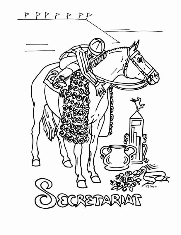Breyer Horse Coloring Pages Awesome Secretariat Coloring Page Breyerhorses In 2020 Horse Coloring Pages Horse Coloring Coloring Pages