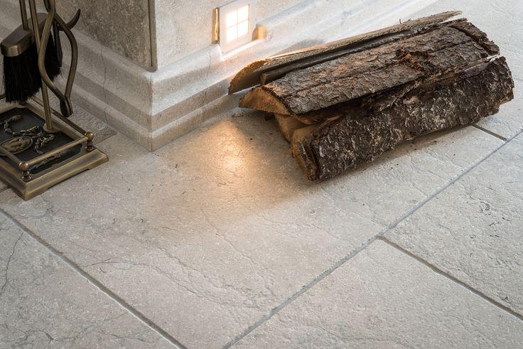 https://flic.kr/p/KFJ9pu   warm beige antique natural stone floor made by Resido   www.resido.ro www.gray-limestone.com