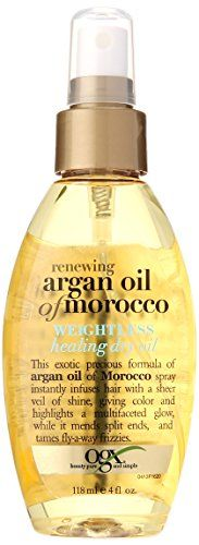 Ogx Moroccan Argan Oil Weightless Dry Oil 4oz ** Additional info @