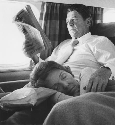Ronald Reagan with Wife, Nancy