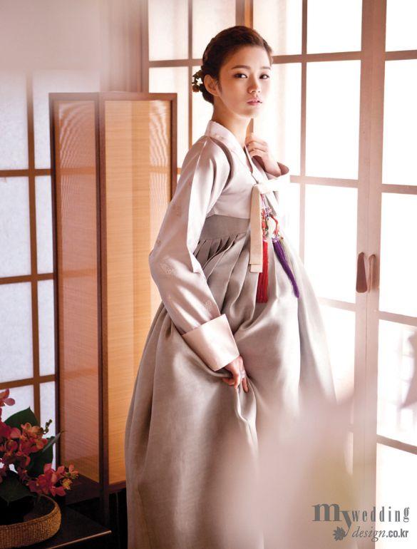 My wedding_ 바이단, 한국의상 백옥수, 한복 린 부드러운 색감에 매료되다