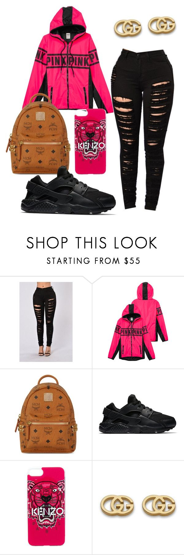 """Untitled #344"" by raevynn324375 ❤ liked on Polyvore featuring MCM, NIKE, Kenzo and Gucci"