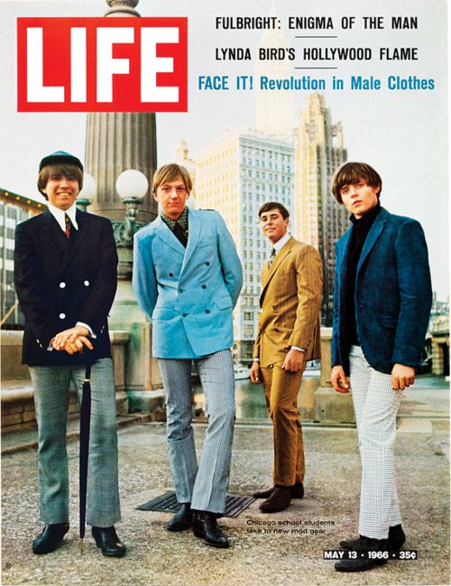 FACE IT! Revolution in Male Clothes…Life magazine, May 1966.