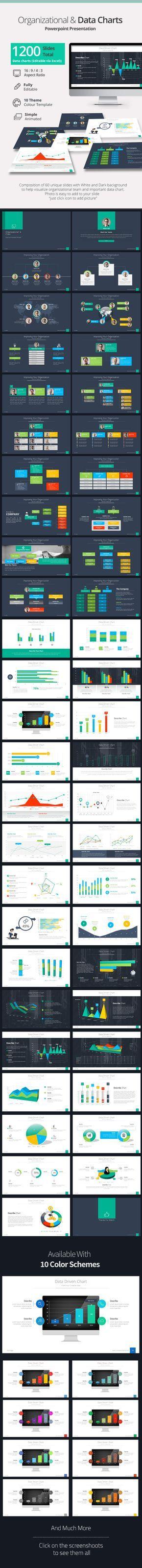 Organizational & Data Chart Presentation - Creative PowerPoint Templates