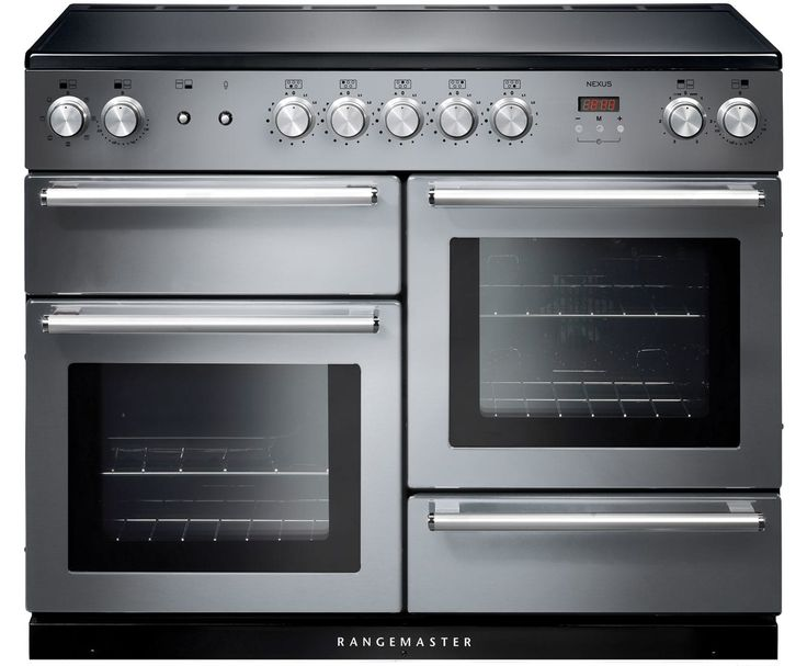 Rangemaster Nexus NEX110EISS/C 110cm Electric Range Cooker with Induction Hob - Stainless Steel / Chrome