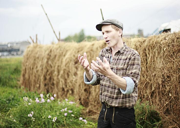 """Frank """"Bonderøven"""" at Mad Foodcamp/ Refshaleøen 2011"""