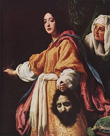 Judith with the Head of Holophernes, by Cristofano Allori, 1613 (Royal Collection, London)