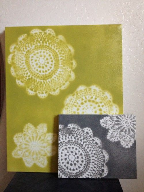 Doily Canvas