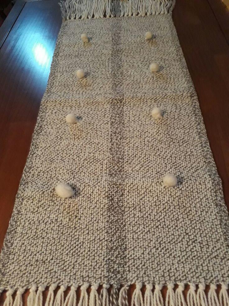 Telar María, 100% lana natural