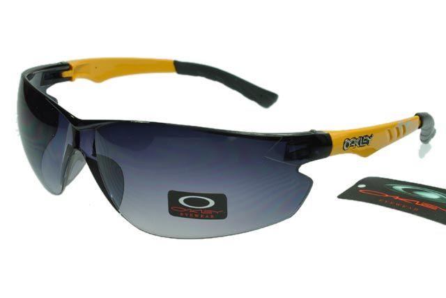Oakley Radar Sunglasses Black Yellow Frame Black Lens 0988